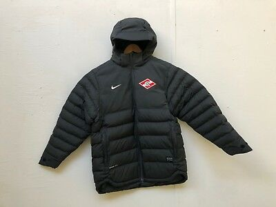 FC Spartak Moscow Nike Men's Bench Padded Jacket - Various Sizes - Black - New