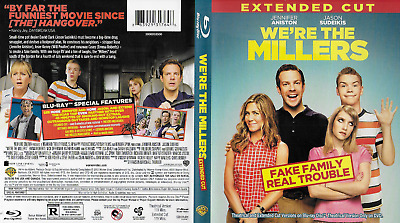 We're the Millers Extended Cut (Blu-ray Disc, 2013, 2-Disc Set)