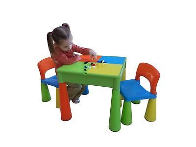 Liberty House Toys 5-in-1 Activity Table and Chairs