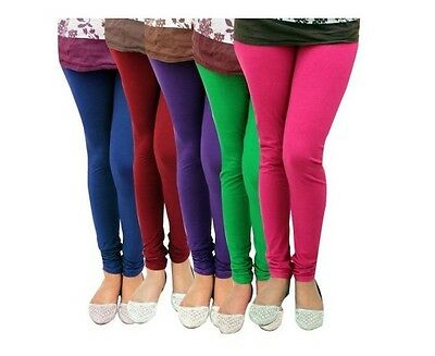 Winter Thick Warm Cotton Leggings Full Length Size 6-22 Multicolours*Ctnlg