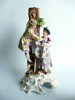 Large 19th century Porcelain Figure Group........................ref.1201