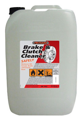 25L Polygard Brake Parts Clutch Cleaner Professional 25 Litre +5L HOLTS NEXT DAY