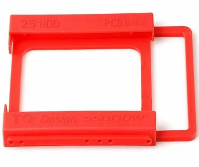 "2.5"" to 3.5"" SSD HDD Hard Drive Case Caddy Mount Adapter Holder for Desktop PC"