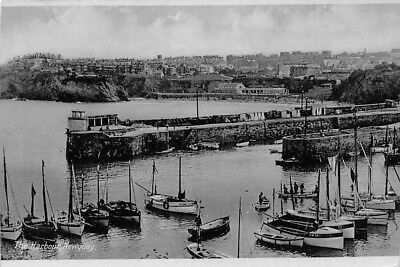 England Newquay The Harbour, Boats, Port