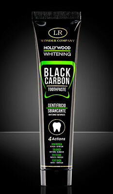 LR WONDER COMPANY Hollywood Whitening Dentifricio Sbiancante al Carbone 75 ml