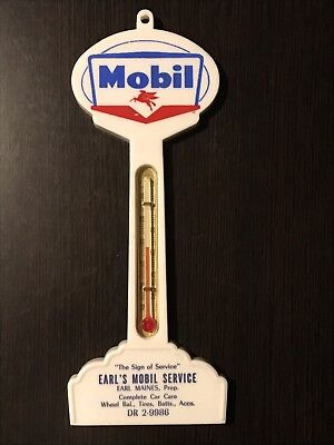 Mobil Gas & Oil, Working Thermometer