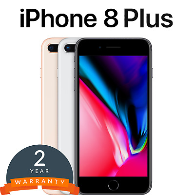 Apple iPhone 8 Plus Smartphone 64/256GB in Space GreySilver/Gold/Red -  Unlocked