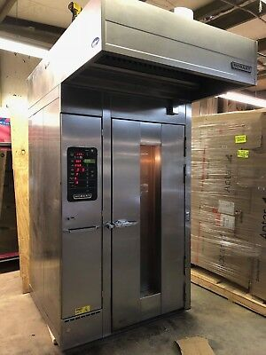 2005 Hobart HBA1G Natural Gas Single Rack Bakery Oven Baking Great Condition