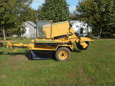 2002 Vermeer Sc752 Portable Tow Behind Diesel Stump Grinder