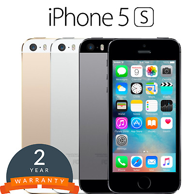 Apple iPhone 5s Smartphone 16/32/64GB in Gold/Silver/Grey - Unlocked/Simfree