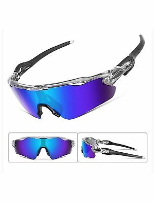 Feisedy Polarized Sports Sunglasses Changeable Lenses TR90 Frame Cycling B2280