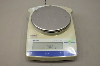 Mettler Toledo PB1502-S Analytical Lab Electronic Balance Scale (16143D11)