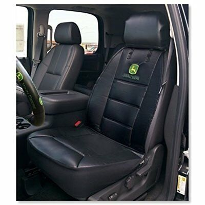 John Deere Universal Fit High Quality Leather-Like Vinyl Sideless Car Seat Cover