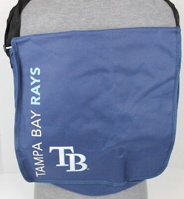 Tampa Bay Rays Times Sga Giveaway Messenger Bag Back Pack Mlb Baseball