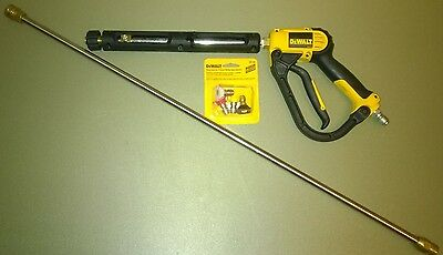 Dewalt Pressure Washer  Gun Replacement Kit With Wand Trigger And 4 Spray Nozzle
