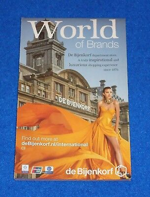 **brand New** Unbelievable World Of Brands Amsterdam City Map Brochure Keepsake