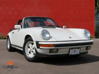 1988 Porsche 911 Targa 3.2L G50 Manual