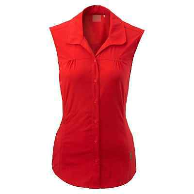Kathmandu Jeema Women's Lightweight Button Top Sleeveless Hiking Shirt