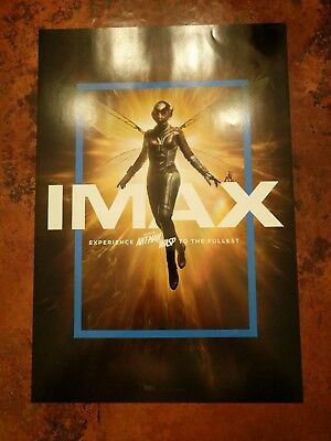 """IMAX Marvel Ant Man And The Wasp Movie Poster 13""""x19"""", Limited Printing"""