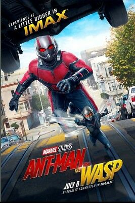 """Marvel Ant-Man and the Wasp IMAX 13""""x19"""" Promo Movie POSTER, Limited Printing"""