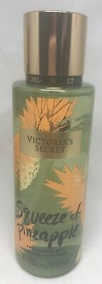 1 Victoria's Secret Squeeze Of Pineapple Fragrance Mist Body Spray 8.4 Fl Oz