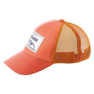 NEW Kathmandu Kids' Well-Ventilated Versatile Durable Cotton Outdoor Trucker Cap