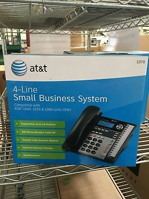 AT&T 1070 4-Line Corded Phone System