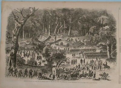 Harper's Weekly 6/7/1862 Winslow Homer   Virginia   Civil War