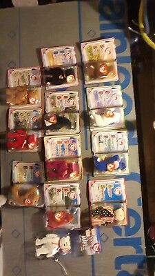 ty beanie babies in original pakg whole set from mcdonalds