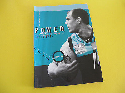 Port Adelaide Football Club Power Yearbook 2004 05 56 pages