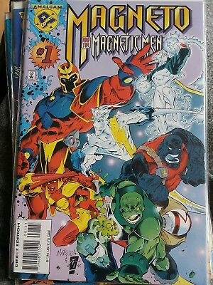 Magneto and the Magnetic Men #1 Marvel Comics 1996