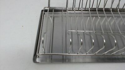 Polder 6115 75 Compact Stainless Steel Dish Rack With Utensil Holder