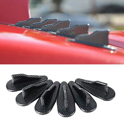 EVO Style Carbon Fiber Cars Roof Shark Fins External Parts Accessories Fittings
