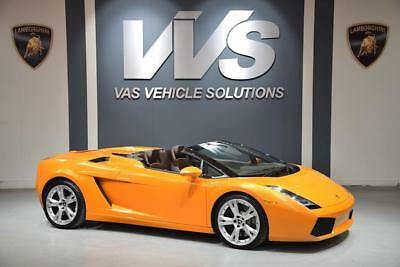 Lamborghini Gallardo Spyder Convertible 5.0 MANUAL HIGH SPEC