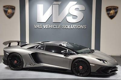 Lamborghini Aventador LP750 SV Convertible 6.5 HIGH SPEC