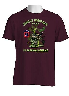 82nd Airborne Division Jungle Expert Cotton Shirt-1178