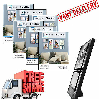 Mainstays 8x10 Format Picture Frame Set Of 6 Home Decor Top Quality