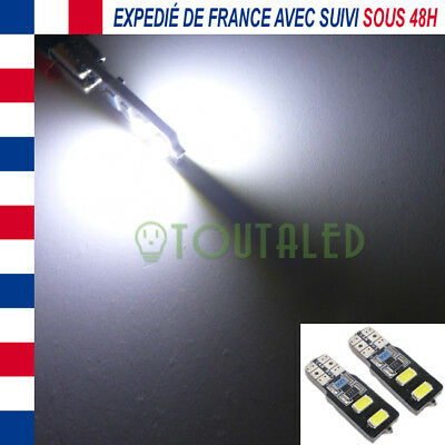 2X Ampoule Lampe 12V T10 W5W 4 Led 5630 Blanc Froid Xenon Interieur  Tuning /2