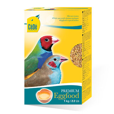 Cede Tropical Finch Egg Food 1Kg Dry Eggfood Birds Exotic Foreign Finches