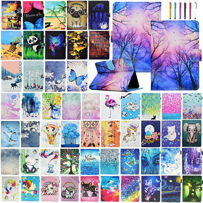 For Amazon Kindle Paperwhite 1 2 3 Patterned Leather Shockproof Flip Case Cover