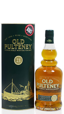 Old Pulteney - Worldwide Whisky Of The Year 2012 21 year old  Whisky