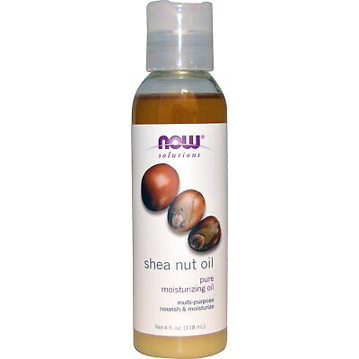*SHORT DATED* Shea Nut Pure Moisturising Oil by Now Foods Solutions - 118ml