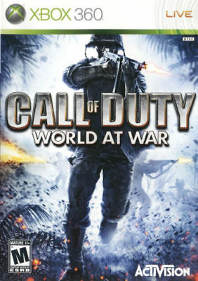 Call of Duty: World at War Xbox 360 /Xbox One Same Day Dispatch Fast & Free