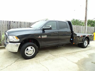 Ram 3500 Tradesman 6.7L Cummins 4x4 Flatbed 2016 Dodge Ram 3500 Tradesman Flatbed 4x4 6.7L Cummins Turbo Diesel Engine
