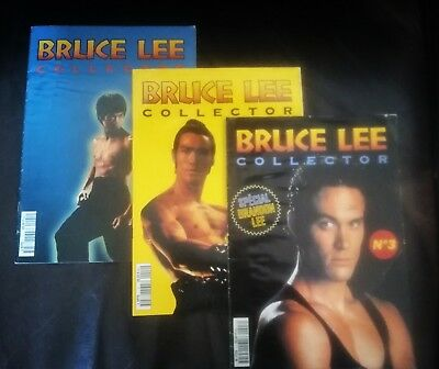 Bruce Lee Collector magazines three issues 1 to 3