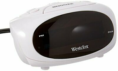 Westclox 70044b Super-loud Led Electric Alarm Clock (white)
