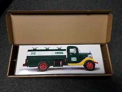 2018 Hess Toy Truck 85th Anniversary Collectors Edition  Sold Out Rare!!