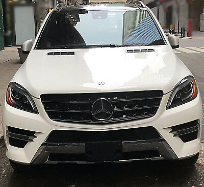 2015 Mercedes-Benz M-Class  ML250 Bluetec AMG Package Diesel Autocheck Report Included