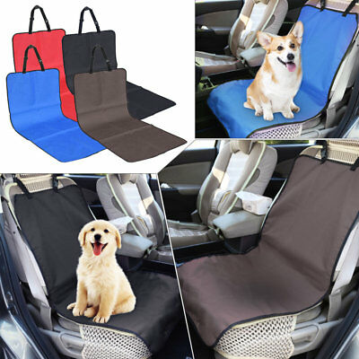 1pc Car Front Seat Cover Protector Pet Dog Cat Seat Bench Mat Blanket Waterproof