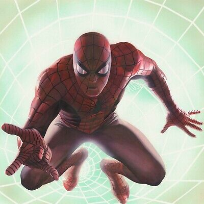 Spider-Man Rockomic Alex Ross PP 25 Signed SDCC Con Exclusive 2017 NEW Marvel